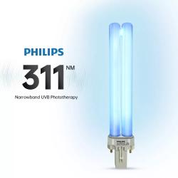 Lampe à main standard Photothérapie UVB 311 nm - PSORIASIS