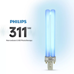 Lampe à main standard Photothérapie UVB 311 nm - VITILIGO