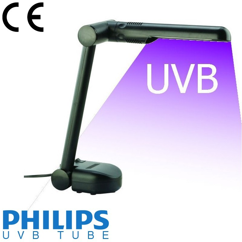 Light Therapy For Psoriasis At Home: UVB Desk Phototherapy Lamp